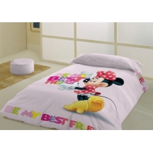 Funda Nórdica Minnie Mouse para cama de 90 cms.